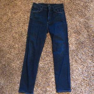 Citizens of Humanity Dark Skinny Jeans